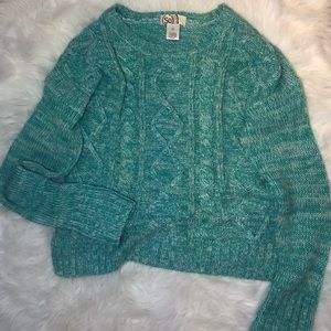 Turquoise SO Sweater